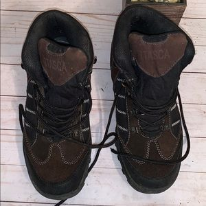 Other - itasca Black & Brown Waterproof  Boots Size 10